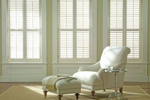 Classic Charleston Shutters With Wood Panel and PVC Louvers