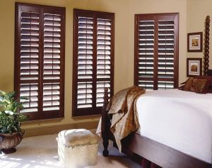 Wood Stain Shutters
